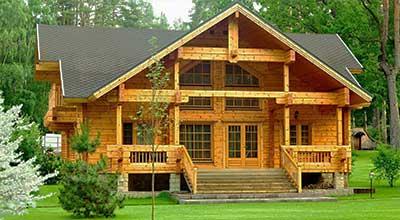 Деревянные дома - строительство деревянных домов в Москве